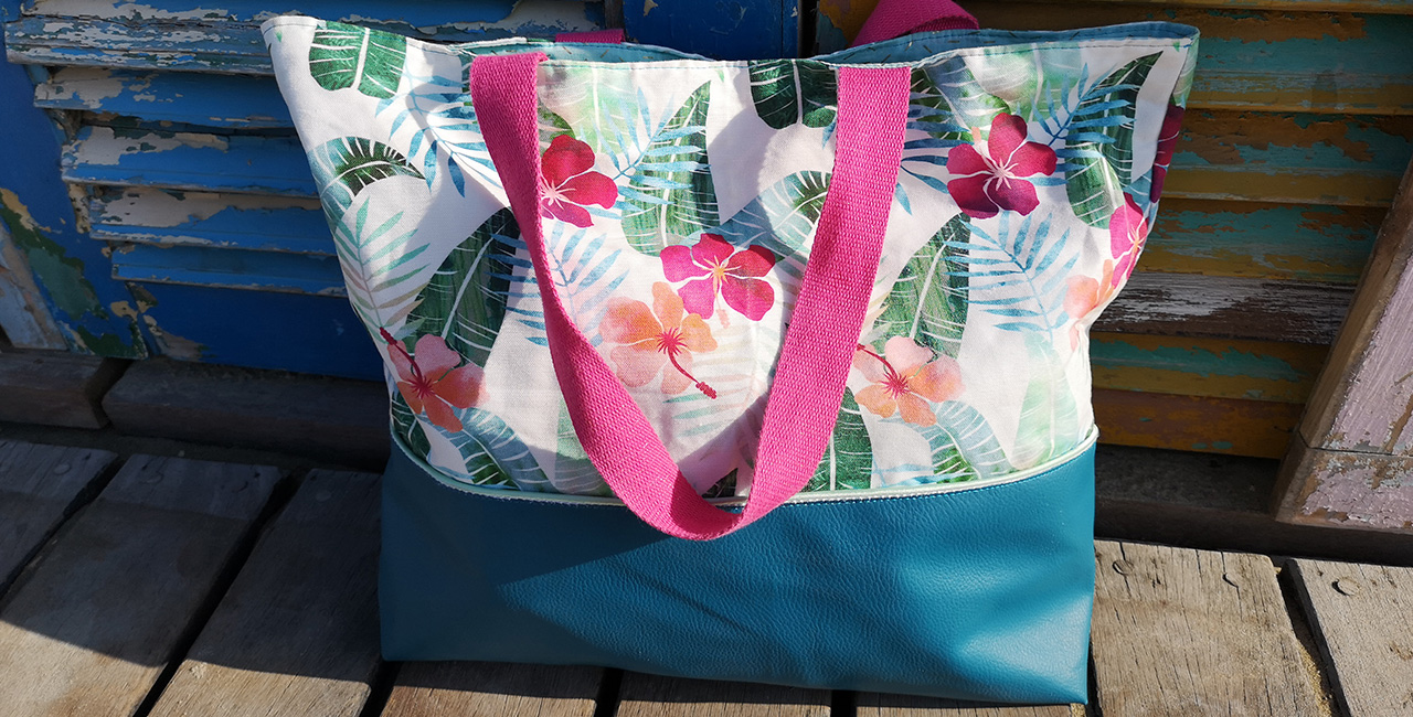 Sac de plage Hiby- By Orlane