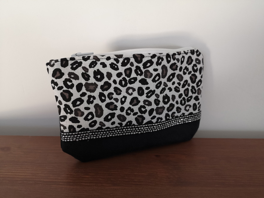 Pochette Smallie graou noire - By Orlane