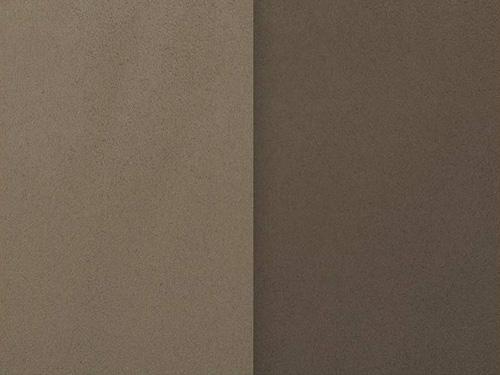 suédine réversible taupe ou marron