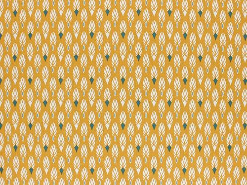 coton pilam moutarde