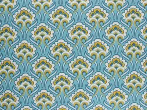 coton sybil turquoise